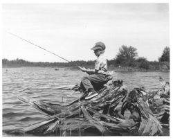 Boy Fishing Photo