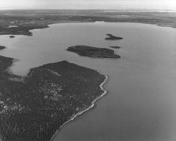 Caribou Island in Skilak Lake Photo