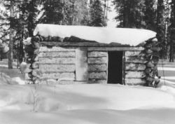 Yukon Flats Cabin on Shovun Lake Photo