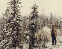 Winter Camping Photo