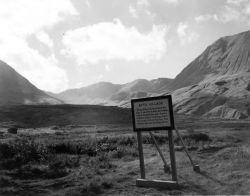 Attu Village Sign Photo