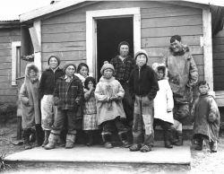 Nunivak Children and Adults Photo