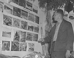 Ronald Skoog and FWS Display at Tanana Valley Fair in Fairbanks Photo