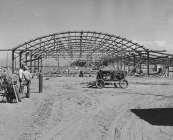 Hangar Construction in Anchorage Photo