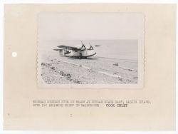 Grumman Widgeon N708 on Beach Photo