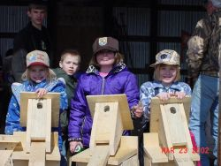 Three Girls At Habitat Day-Crane Meadows NWR Photo