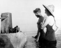 Robert Hines and Rachel Carson Photo