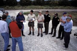Construction Briefing For Pelican Island Restoration Project Photo