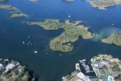 Aerial of Crystal River National Wildlife Refuge Photo