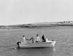 Fishing at Charles M. Russell NWR Photo