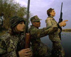 Hunting at Horicon National Wildlife Refuge Photo