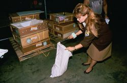 Inspection of Imported Pythons Photo