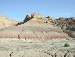 Ouray National Wildlife Refuge Rock Formations Photo