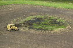 Draining Wetland Photo