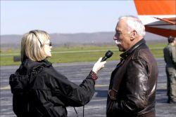 WOE136 WV Reporter interviews FWS Flyway Biologist Photo