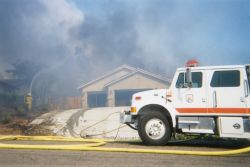 r8-ca-tnr-structure protection during 2003 fires Photo