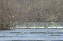 WOE 89 Embrey Dam Before Breach, Fredericksburg VA Photo