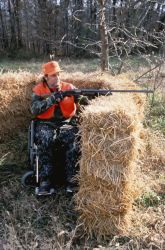 WO 4717 Hunting, Disabled Sportsmen Photo