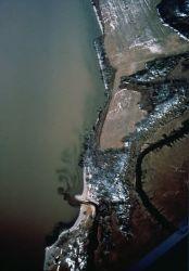 Pollution Enter Potomac River (Aerial) Photo