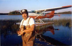 WOE155 Bird Banding, Pilot - Biologist Photo