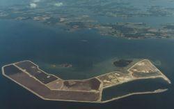 WOE160 Aerial of Poplar Island, Chesapeake Bay Photo