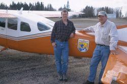 WO5770 Pilot Biologist, N.A. Waterfowl Survey Photo