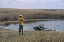 WO5771 Ground Survey, N.A. Waterfowl Survey Photo