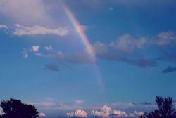 Rainbow at El Morro National Monument Photo