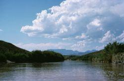 WO8188 Rio Grande, Big Bend National Park Photo