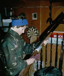 Hunting Waterfowl - Gun Cleaning Photo
