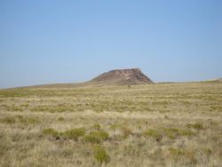 The Vulcan Volcano at Petroglyph National Monument Photo