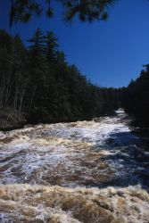 Presque Isle River Photo