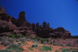 Fisher Towers Photo