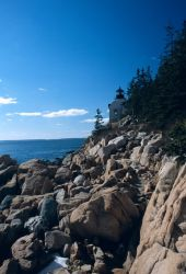 Bass Harbor Light House Photo