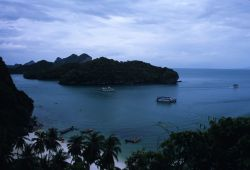 Aerial View of Mu Ko Ang Thong (Marine) National Park Photo