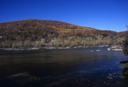 River in Fall Photo