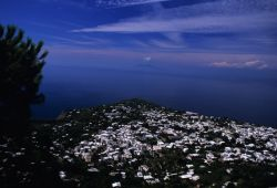 Aerial View of Capri Island Image