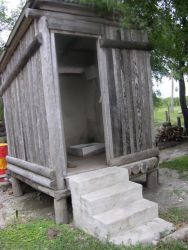 Outhouse for ecotourists Photo