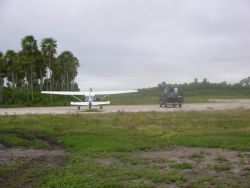 Landing Strip in Pantanal Photo