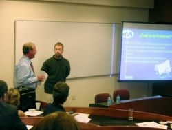 Presentation at Paraguay Biodiversity Informatics Workshop Photo