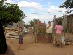 Poverty in Asuncion Photo