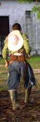 Paraguayan cowboy Photo