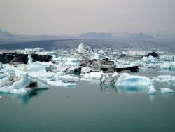 Iceland Iceberg Glacier Photo