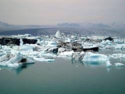 Iceland Iceberg Glacier Photo