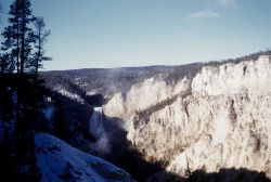 Falls of the Grand Canyon of the Yellowstone Photo