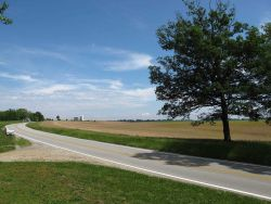 A scene in Southern Illinois on the National Road, also known as