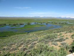 A vista in the Arapahoe National Wildlife Refuge. Photo