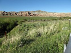 The Wind River Valley, south of Dubois Photo