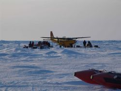 Unloading gear for scientific studies of ice Photo