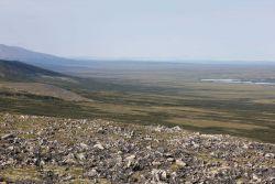 Looking down into the Imuruk Basin Photo